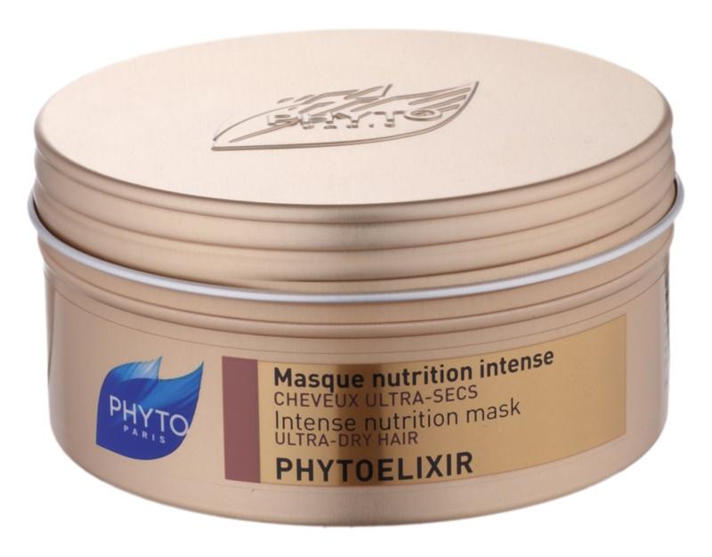 Phyto Phytoelixir intenzivna vlažilna maska za suhe in porozne lase