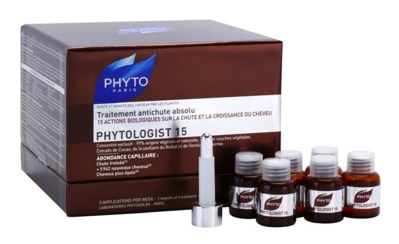Phyto Phytologist 15 4-денна сироватка  проти випадіння волосся та відновлення їх росту