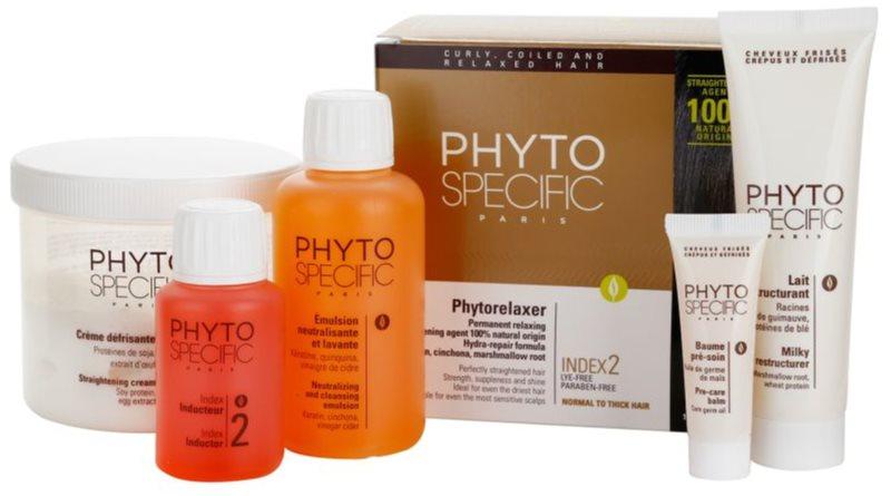 Phyto Specific Phytorelaxer kit para alisamento de cabelo normal a grosso