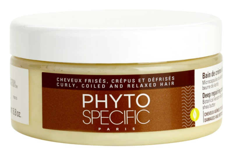 Phyto Specific Shampoo & Mask máscara para cabelo danificado e quebradiço