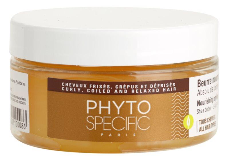 phyto specific styling care beurre de karit pour chevex secs et ab m s. Black Bedroom Furniture Sets. Home Design Ideas