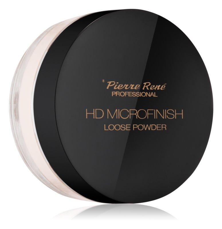 Pierre René HD Microfinish transparentní sypký pudr