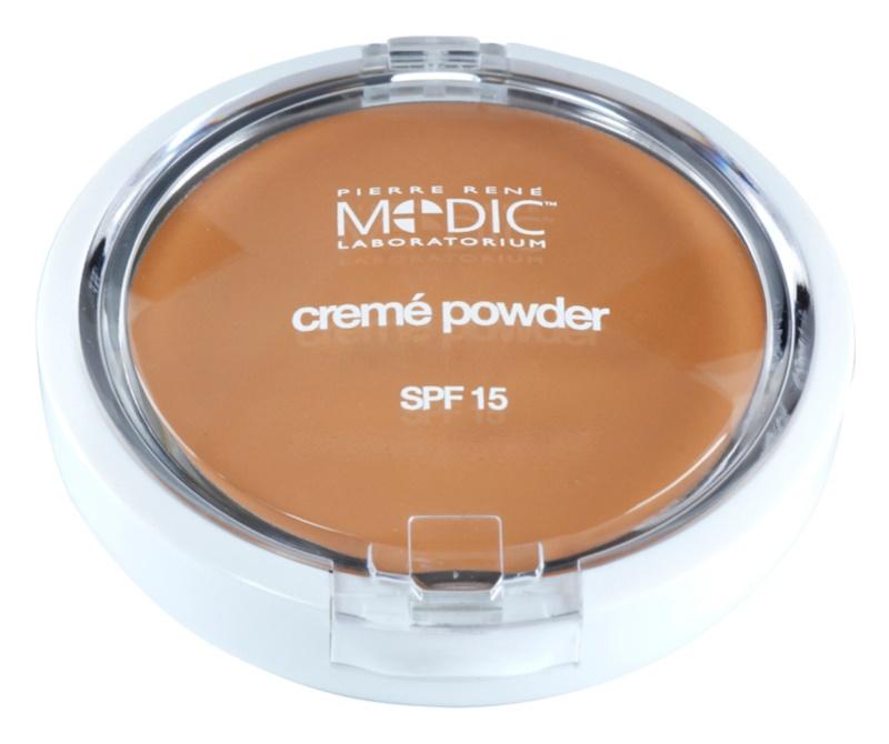 Pierre René Medic Laboratorium Pudra cu textura cremoasa cu oglinda si aplicator SPF15