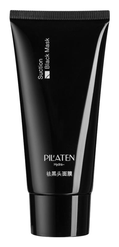 Pilaten Black Head černá slupovací maska