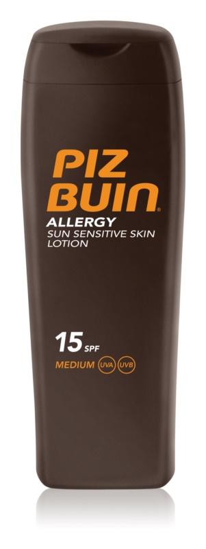 Piz Buin Allergy lait solaire SPF15