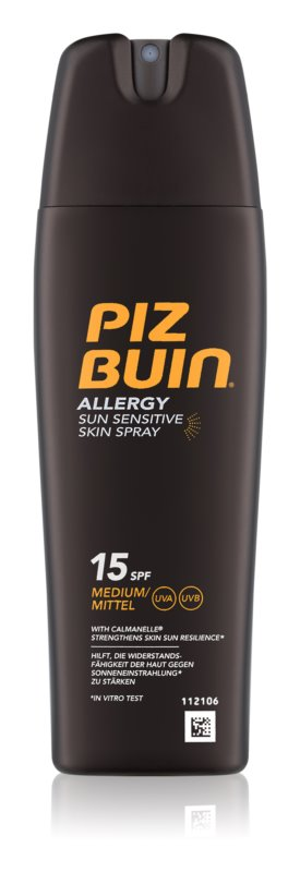 Piz Buin Allergy spray solar SPF 15