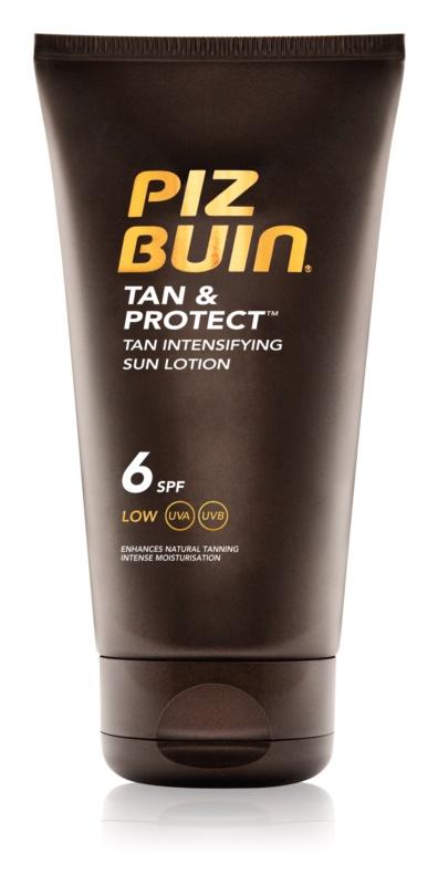 Piz Buin Tan & Protect ochranné mlieko urýchľujúce opálenie SPF 6