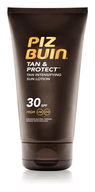 Piz Buin Tan & Protect zaščitni losjon za pospešitev porjavelosti SPF 30