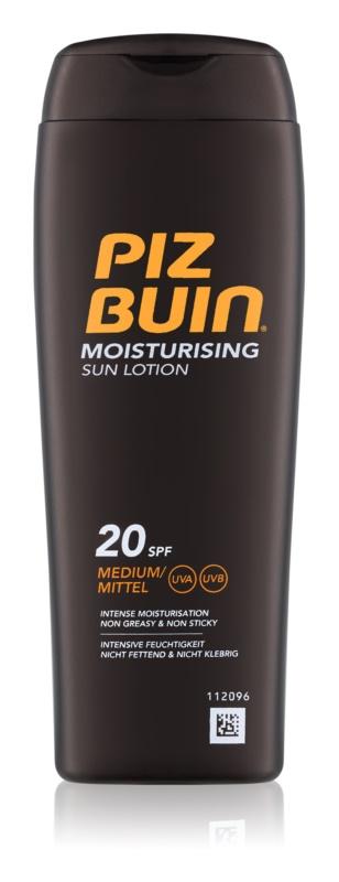 Piz Buin In Sun hydratačný krém na opaľovnie SPF 20