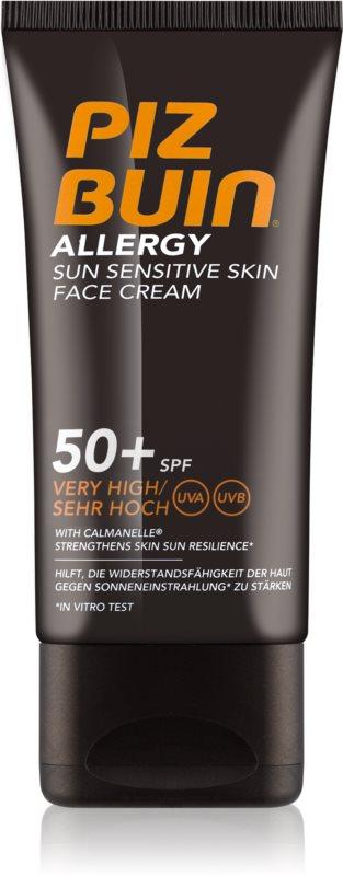 Piz Buin Allergy napozókrém arcra SPF50+