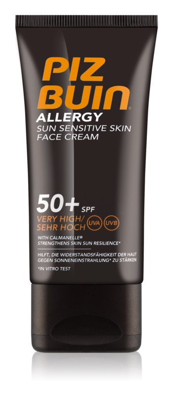 Piz Buin Allergy opaľovací krém na tvár SPF 50+