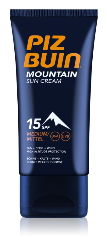 Piz Buin Mountain Suntan Cream SPF 15