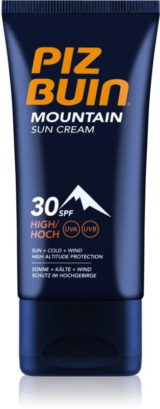 Piz Buin Mountain crème solaire visage SPF 30