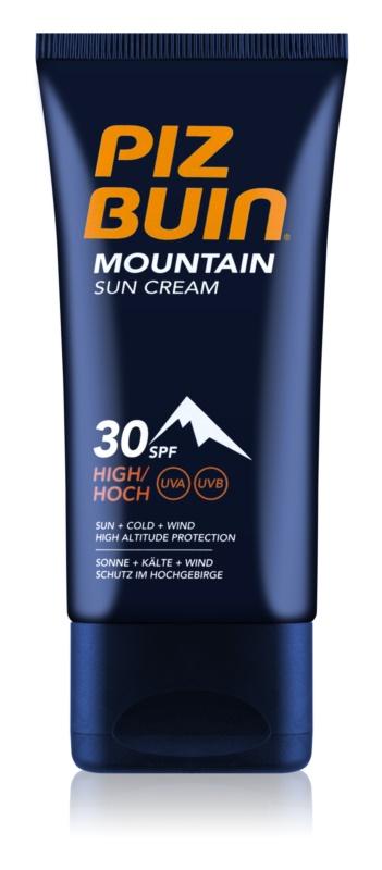 Piz Buin Mountain opaľovací krém na tvár SPF 30