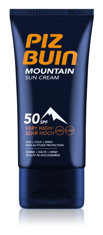 Piz Buin Mountain крем для обличчя для засмаги SPF 50+