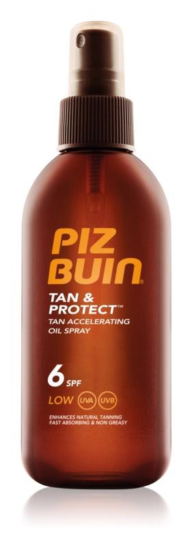 Piz Buin Tan & Protect napozást elősegítő védő olaj SPF 6