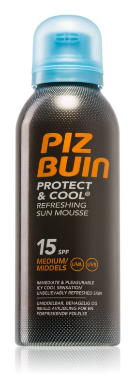 Piz Buin Protect & Cool Verfrissende Bruiningsschuim SPF 15