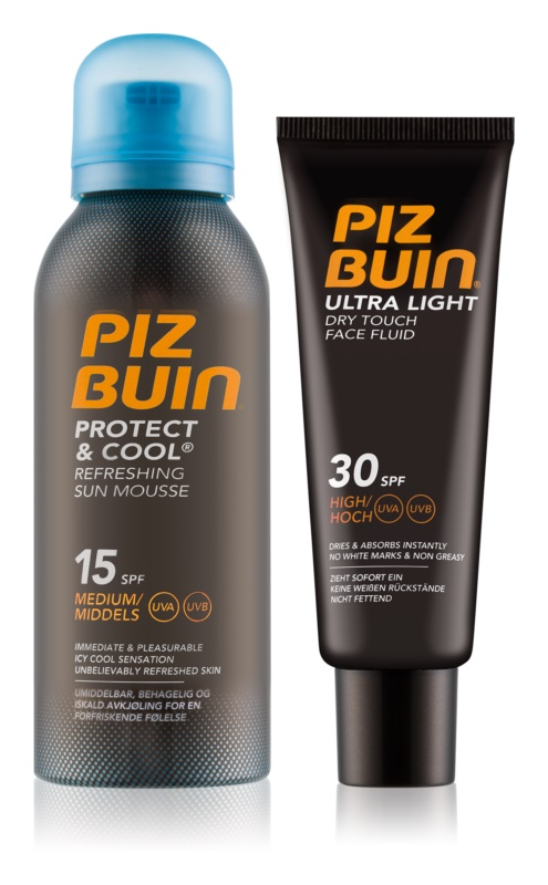 Piz Buin Protect & Cool козметичен пакет  I.