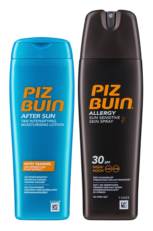 Piz Buin Allergy lote cosmético XIII.