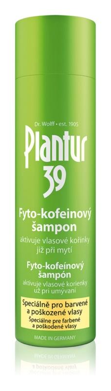 Plantur 39 sampon koffein kivonattal a festett és károsult hajra