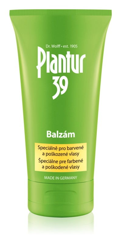Plantur 39 Caffeine balm For Damaged And Colored Hair