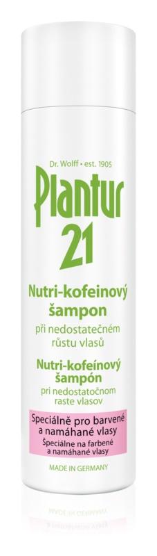 Plantur 21 nutri - koffeines sampon a festett és károsult hajra
