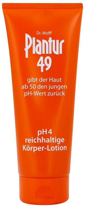 Plantur 49 Odżywczy balsam do ciała na odmłodzenie skóry pH 4