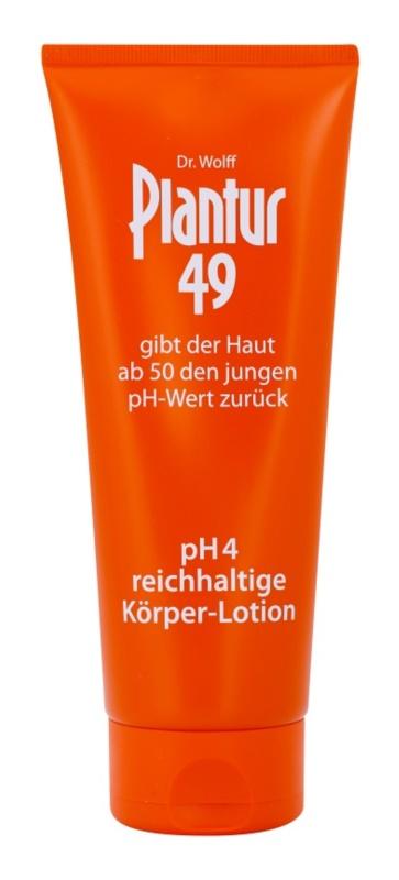 Plantur 49 výživné telové mlieko pre omladenie pokožky pH 4