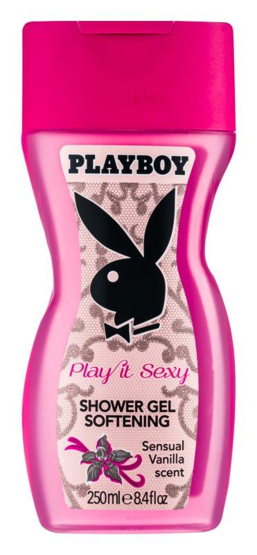 Playboy Play It Sexy gel de dus pentru femei 250 ml