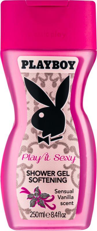 Playboy Play It Sexy sprchový gel pro ženy 250 ml