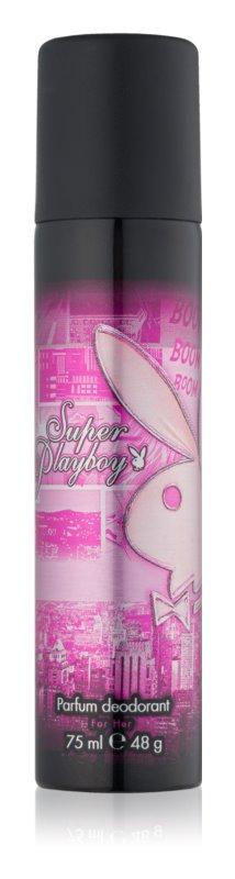 Playboy Super Playboy for Her dezodorant w sprayu dla kobiet 75 ml
