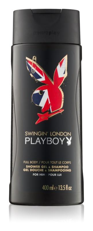 Playboy London tusfürdő férfiaknak 400 ml