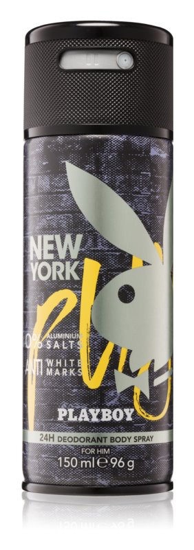 Playboy New York deospray per uomo 150 ml
