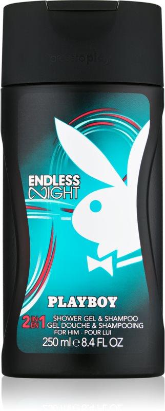 Playboy Endless Night tusfürdő férfiaknak 250 ml