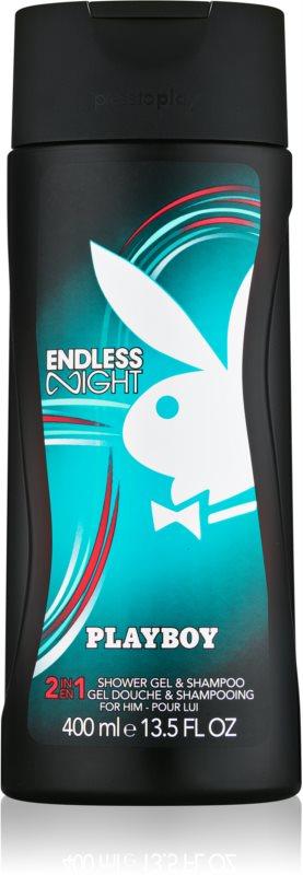 Playboy Endless Night Duschgel für Herren 400 ml