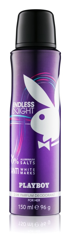 Playboy Endless Night deospray per donna 150 ml