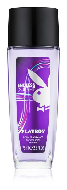 Playboy Endless Night deodorante con diffusore per donna 75 ml