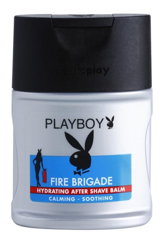 Playboy Fire Brigade Baume après-rasage pour homme 100 ml
