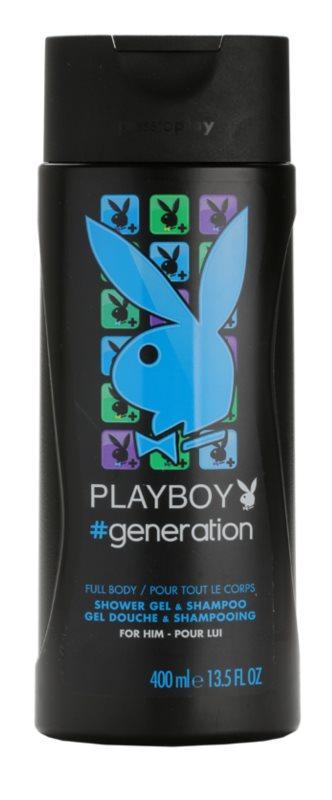Playboy Generation Shower Gel for Men 400 ml