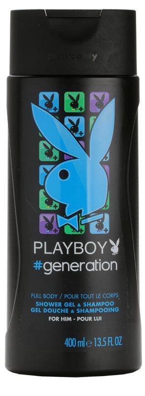 Playboy Generation sprchový gél pre mužov 400 ml
