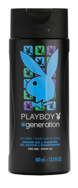 Playboy Generation sprchový gel pro muže 400 ml