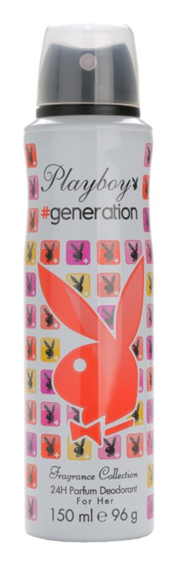 Playboy Generation Deo Spray for Women 150 ml
