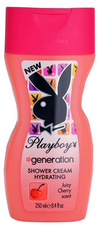 Playboy Generation crème de douche pour femme 250 ml