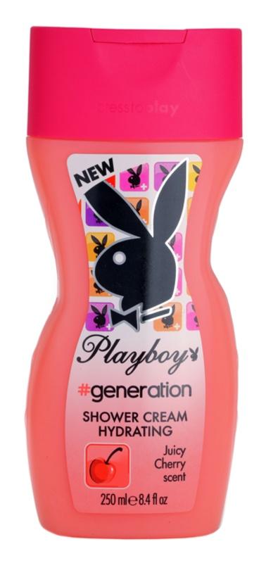 Playboy Generation sprchový krém pre ženy 250 ml