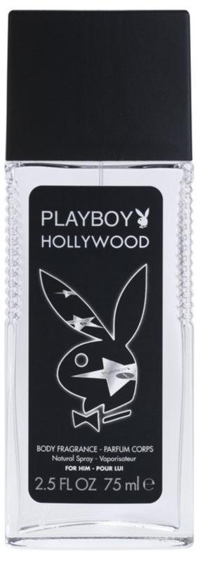 Playboy Hollywood deodorante con diffusore per uomo 75 ml