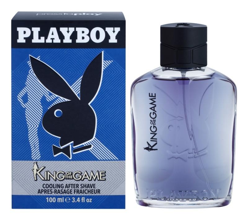 Playboy King Of The Game woda po goleniu dla mężczyzn 100 ml