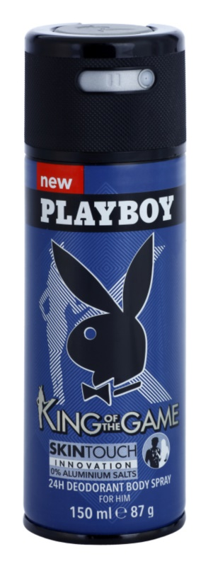 Playboy King Of The Game déo-spray pour homme 150 ml