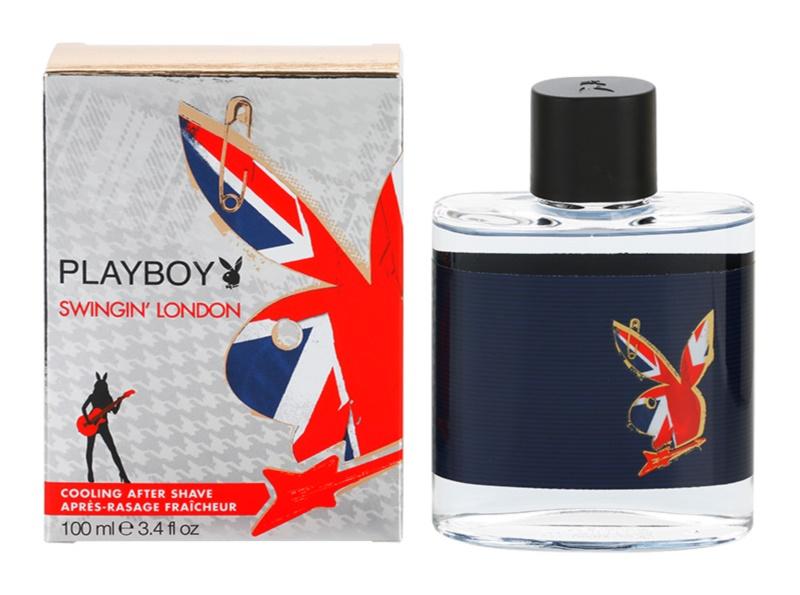 Playboy London borotválkozás utáni arcvíz férfiaknak 100 ml