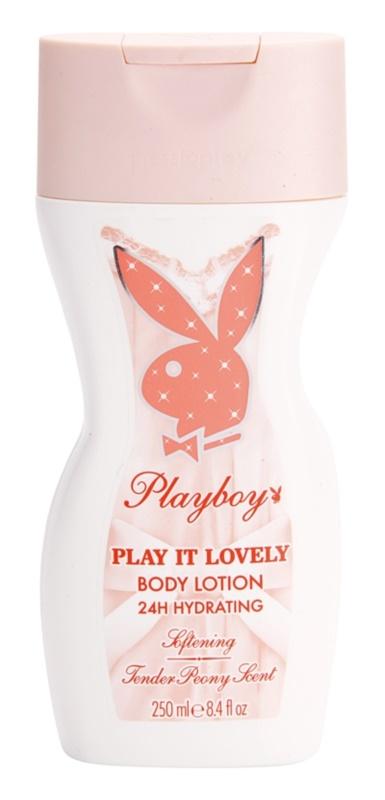 Playboy Play It Lovely Körperlotion für Damen 250 ml