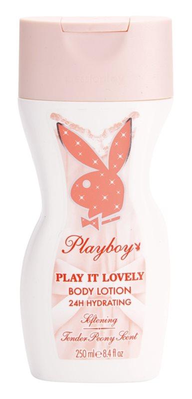 Playboy Play It Lovely telové mlieko pre ženy 250 ml